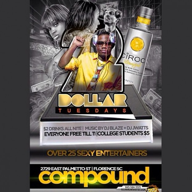 All New Home For $2 Tuesdays #Florence,SC #ClubCompound