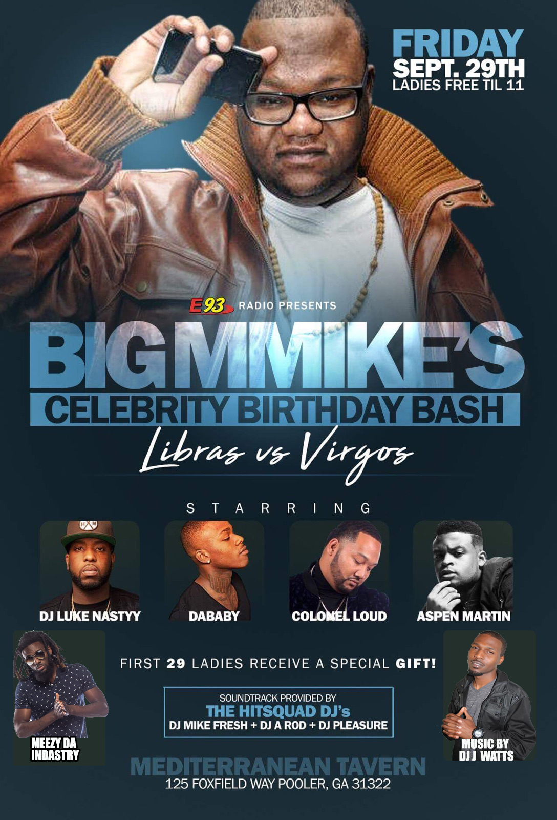 BIG MIKE BIRTHDAY BASH